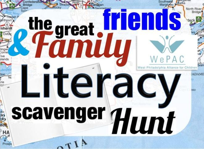the great friends & family literacy scavenger hunt