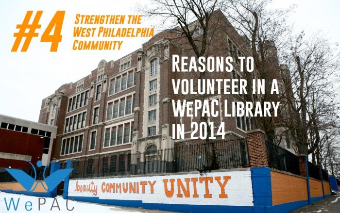 Strengthen the West Philadelphia Community