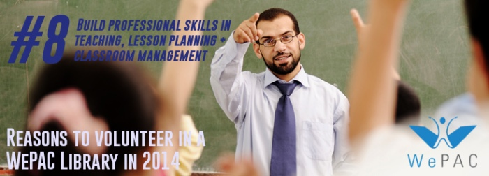 Build professional skills in lesson planning and classroom management